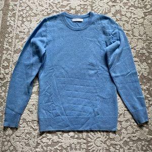 Grana Blue Mongolian Cashmere Sweater